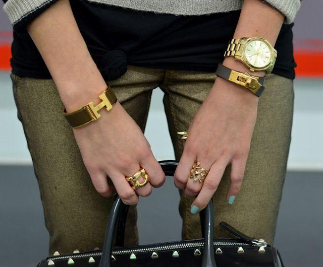41399e73b75d Chunky bracelet watches! (love the Hermes clic clac bracelet!)