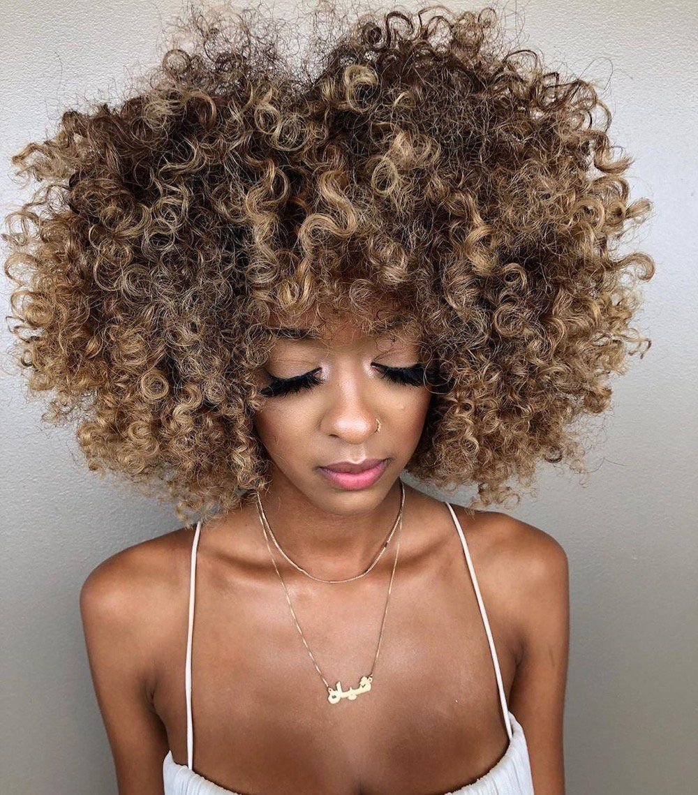 Ash Brown Is Here To Help You Lighten Up For Fall Retroworldnews Natural Hair Styles Curly Hair Styles Natural Hair Color