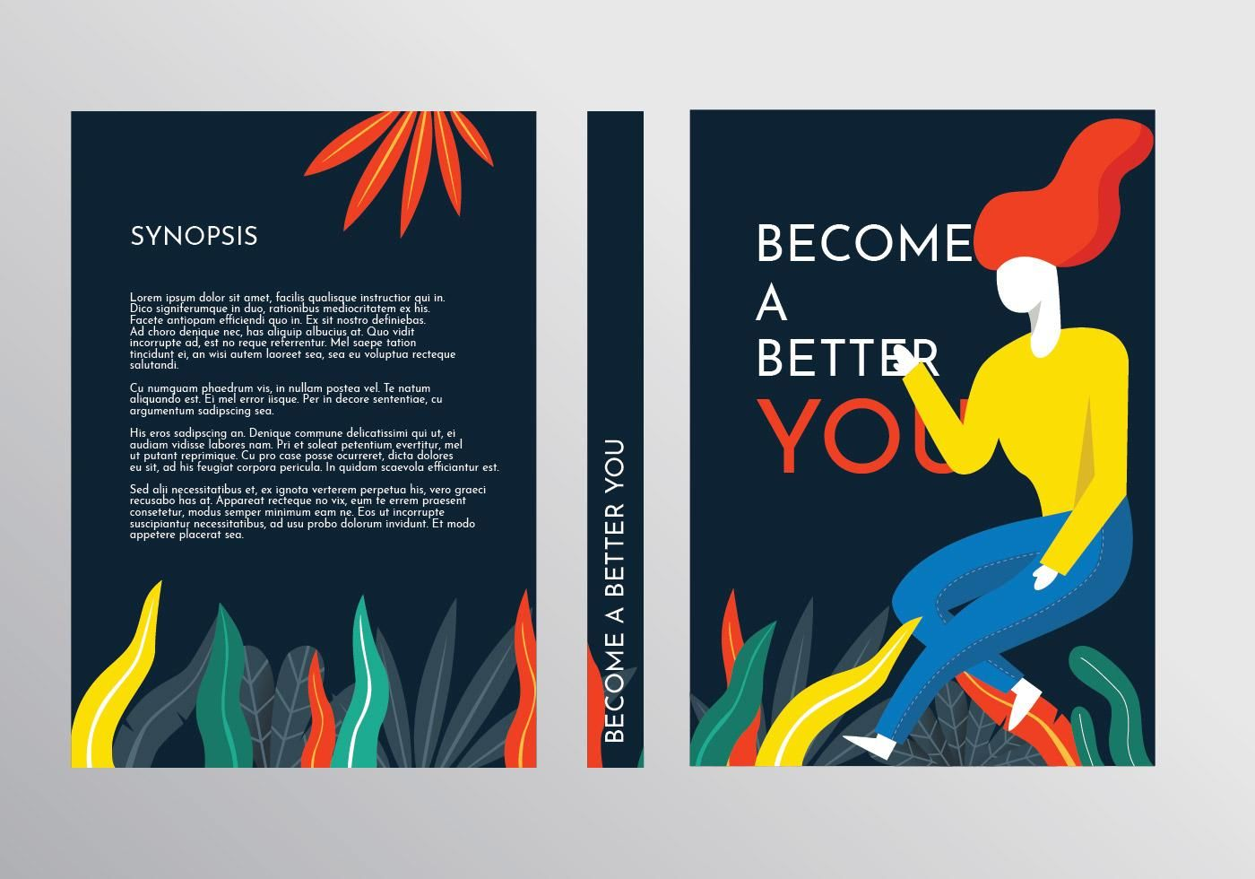 Motivational Book Cover Template Vector Book Cover Template Book Cover Book Cover Design