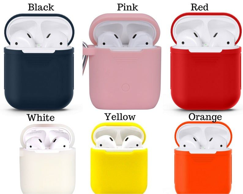 Personalized Airpod Case Keychain Monogramairpod Case Silicone Airpod Keychain Pink Airpods Cover Airpods Pouch Airpods Holder Airpod Case Case Pet Gift
