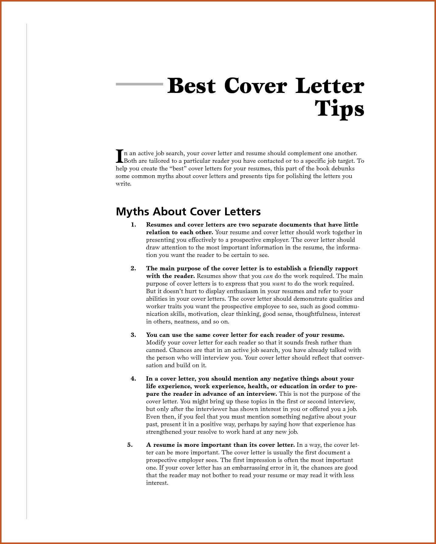 30 Good Cover Letter Examples Good Cover Letter Examples Cover