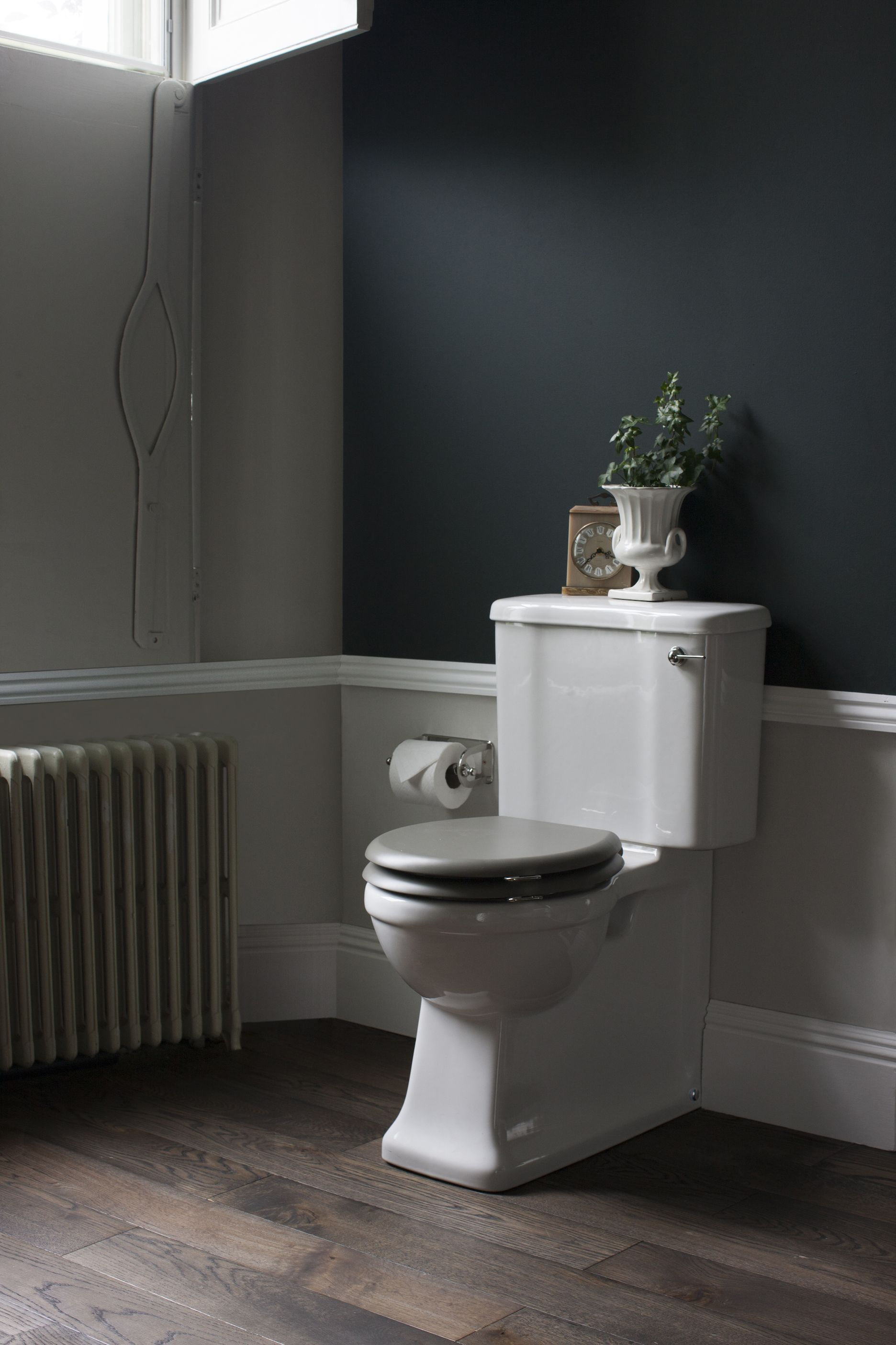 Interiors Moody Hues Remix Bathroom Wall Colors Bathroom Colors Painting Bathroom