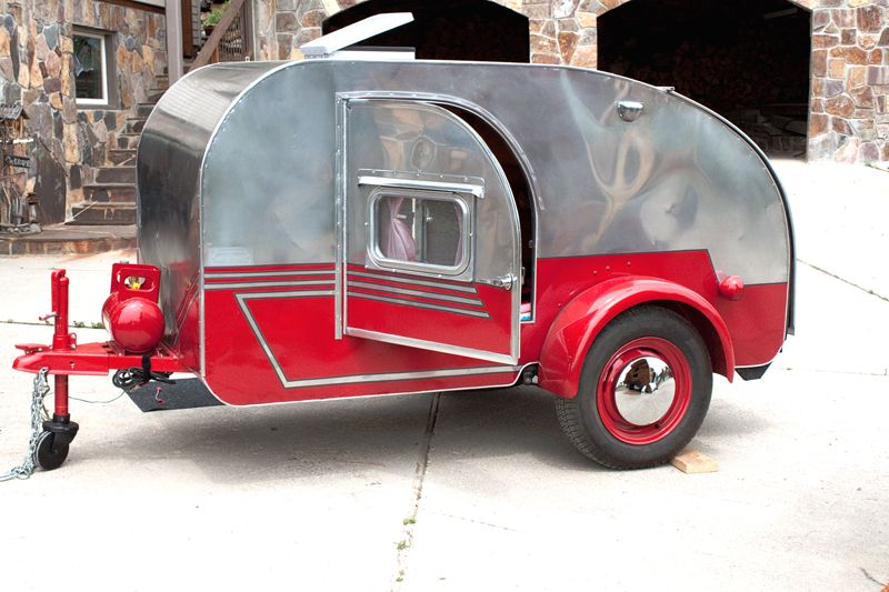 Teardrop Trailer – Inspiration | I LIKE TO MAKE STUFF | Teardrop