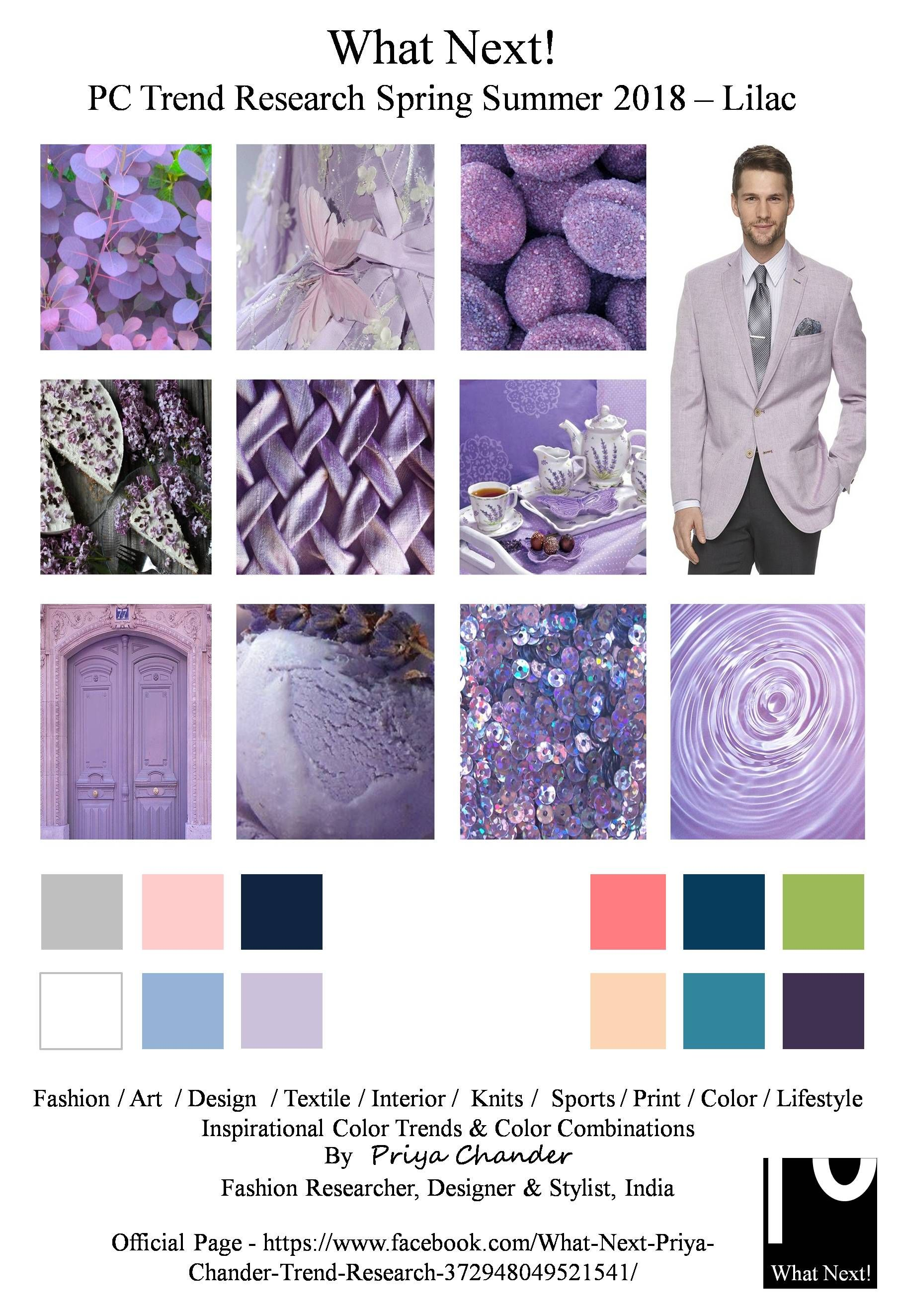S/S 2018 pantone colors trend: lilac #fashion #pantone #colortrends