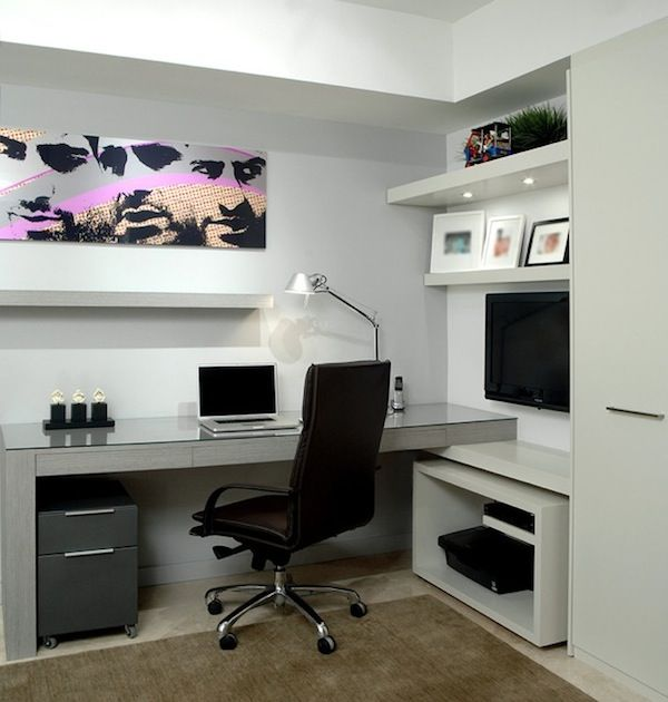 15 Modern Home Office Ideas: Home Office Design: Maintenance Tips : Minimalist Modern