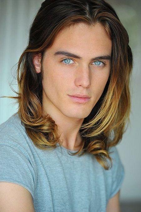 Hairstyle Long Hair Man