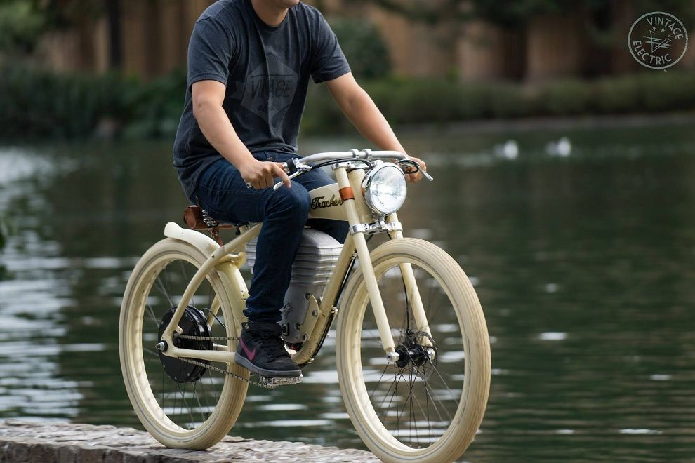 Vintage look mens bike