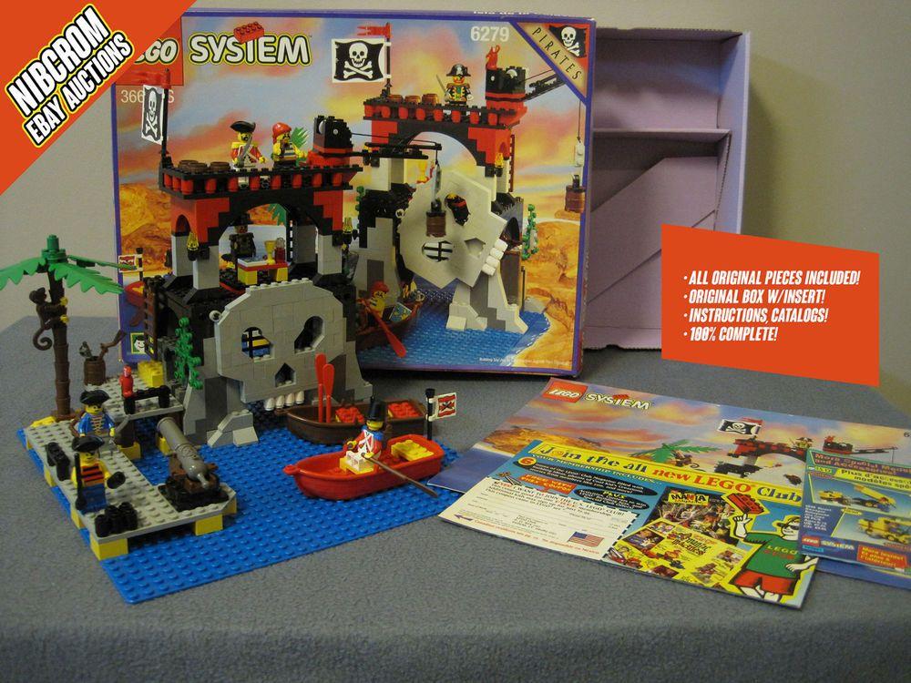 Lego 6279 Skull Island Pirates Complete Wbox Instructions