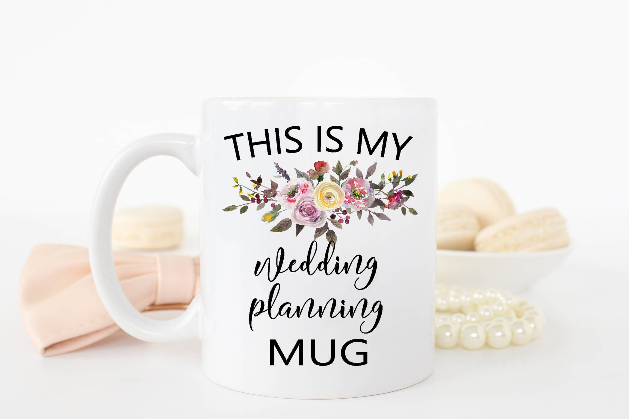 Wedding Planning Mug Gift For Bride Wedding Planner Gift Wedding