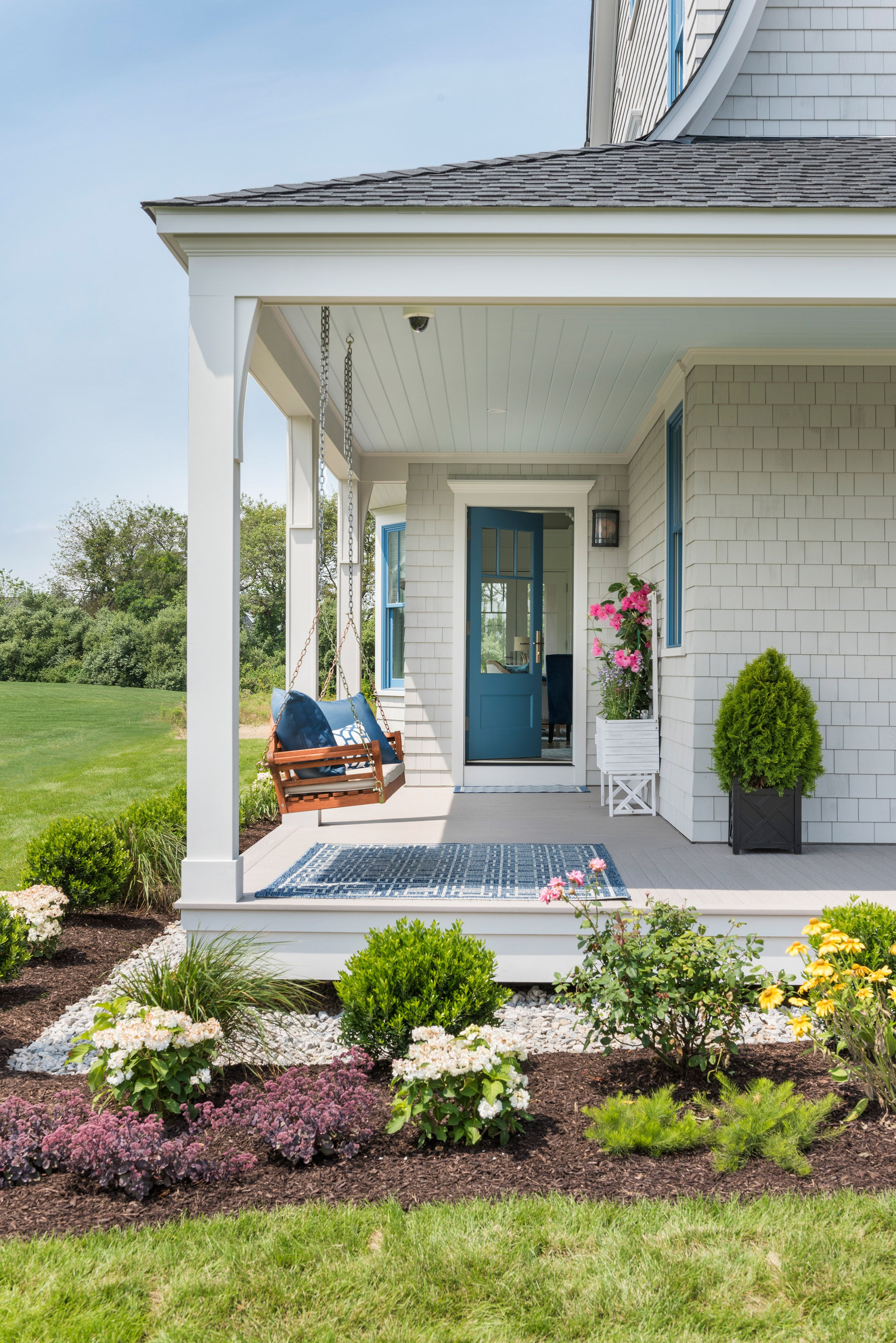 Idea House 2017 Outdoor Living Reveal This Old House In 2020 House With Porch Old Houses French Doors Exterior