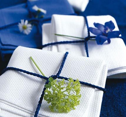Einfache aber wundersch ne sommerliche tisch deko f r for Tisch design servietten