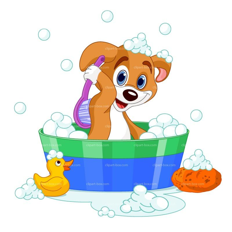 clipart dog in bath royalty free vector design life planners and rh pinterest com Dog in Bathtub Clip Art Lady in Bathtub Clip Art