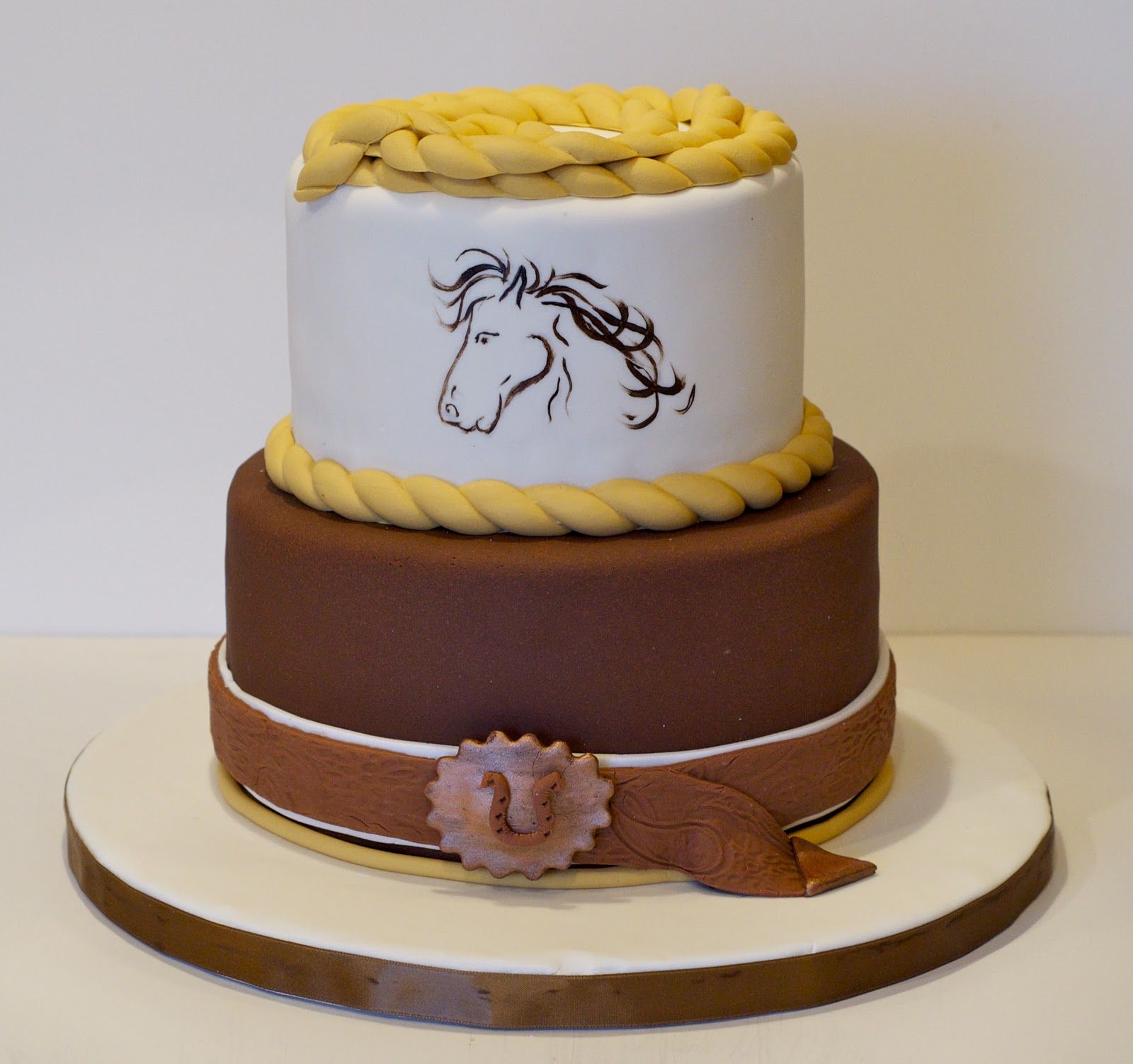 Cowboy Themed Cake Themed Party Cakes Pinterest Cake And Mini