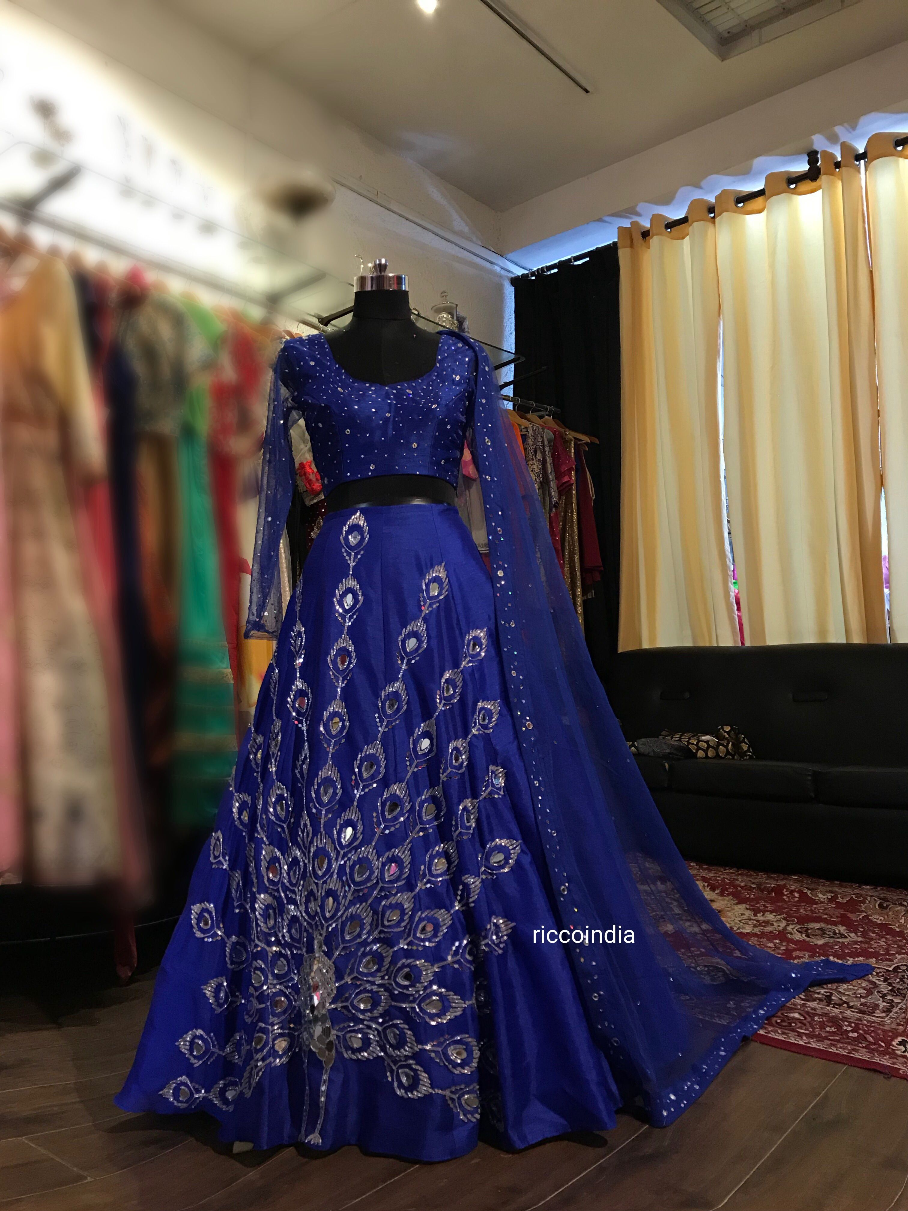 10++ Royal blue wedding dress indian ideas in 2021