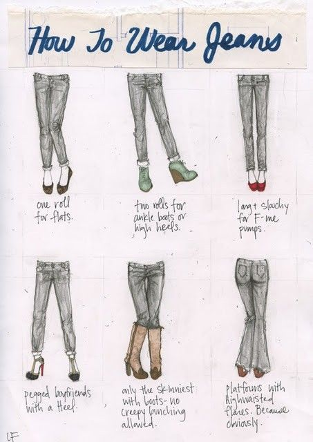 Jeans how to