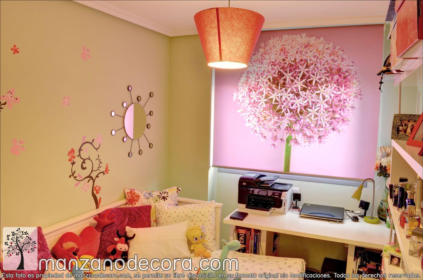 Estores Enrollables Fotográficos http://www.manzanodecora.com ...