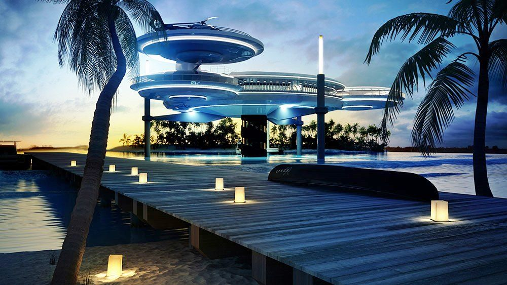 Dive Into The World's Coolest Underwater Hotels