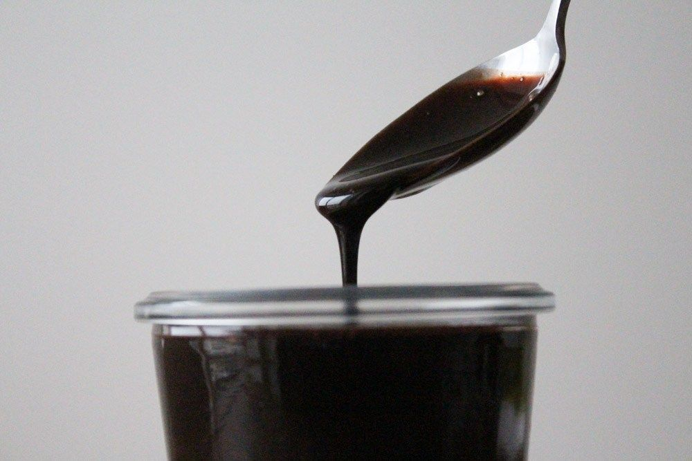 This one chocolate sauce is just delicious and can last a long time in the fridge!
