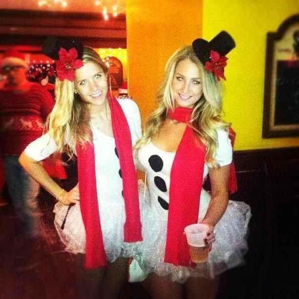 Sexy snowman costumes