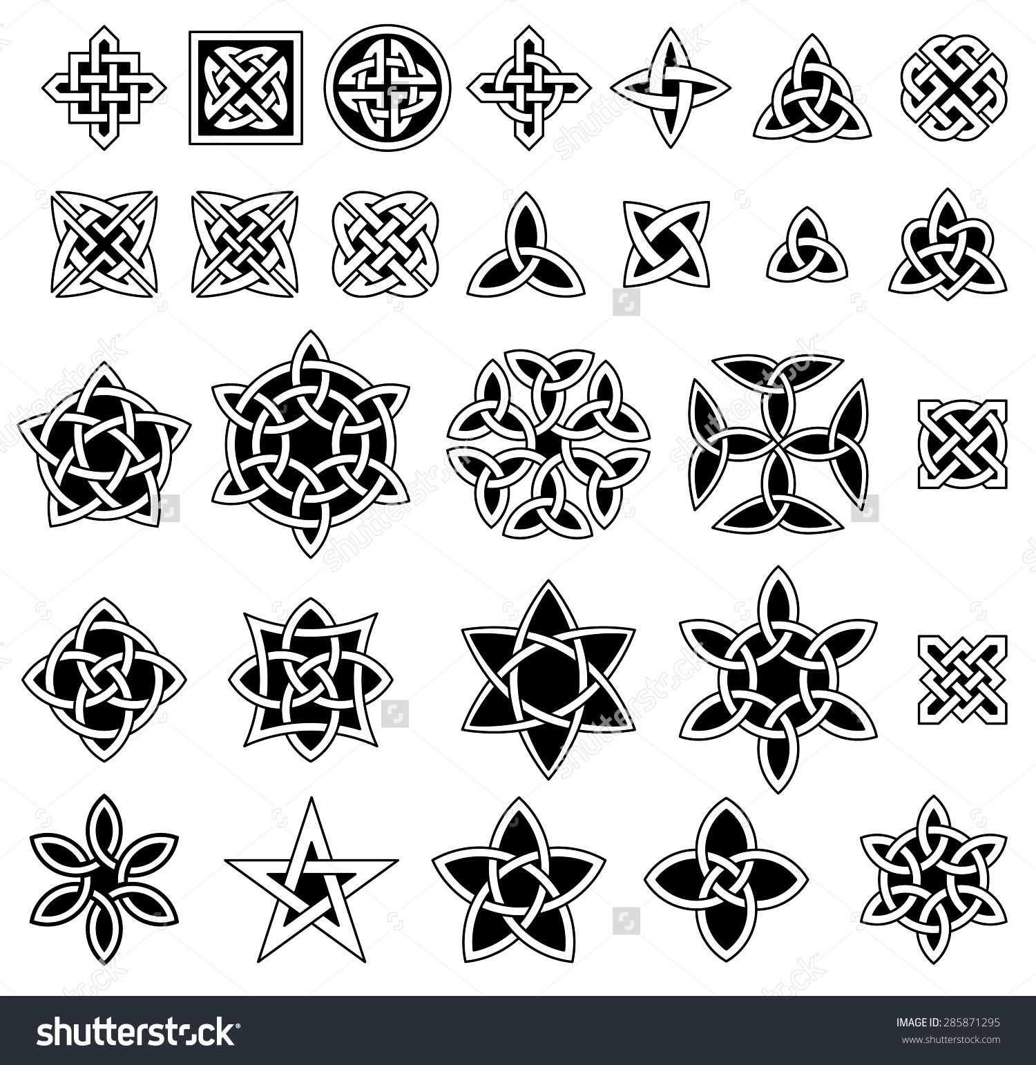 Image result for trinity knot tattoos trinity knot pinterest collection of celtic knots decorative symbols decorative buycottarizona Image collections