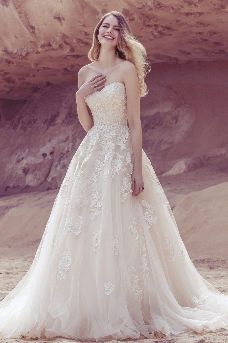 Lace dress styles for wedding  Sequin Tonal Lace Applique Dress  style   Sharonus Wedding