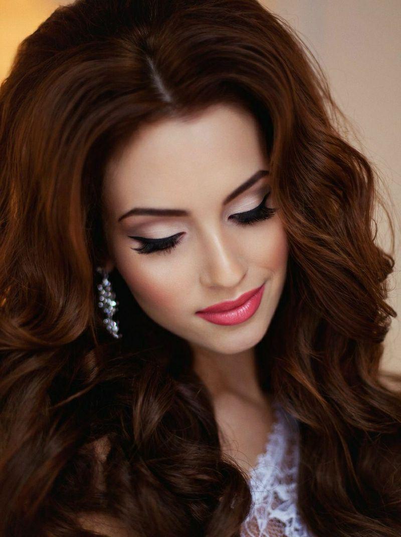 braut make up: atemberaubende ideen für die perfekte