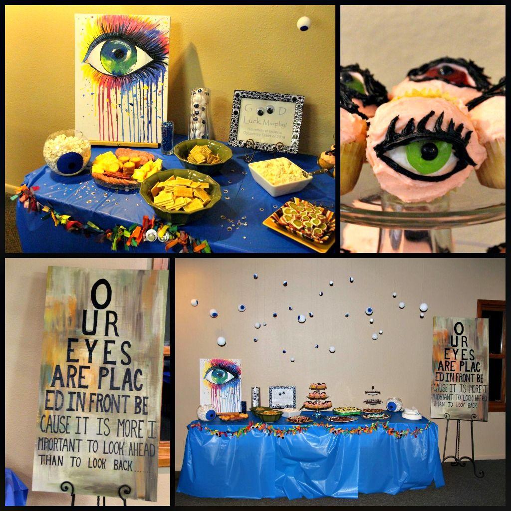 Eye Optometry Optometrist Theme Party Themes