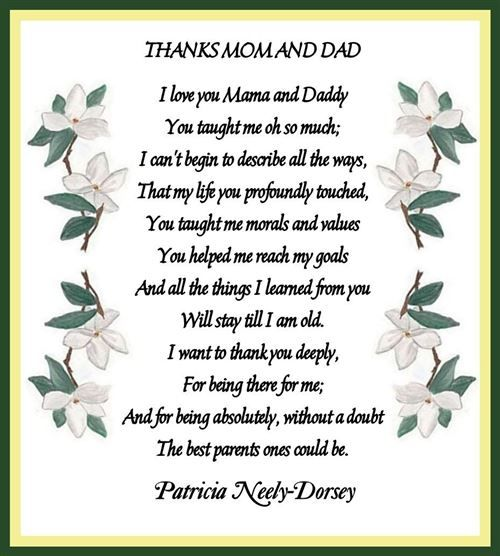Thanksgiving Poems To Parents, Thanksgiving Messages Free Download ...