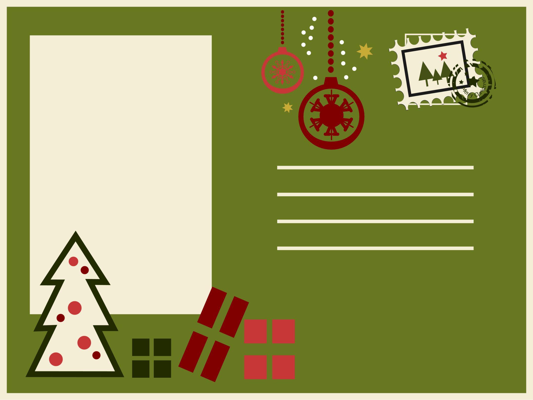 Resultado de imagen de como hacer etiquetas para imprimir - Disenar tarjetas de navidad ...