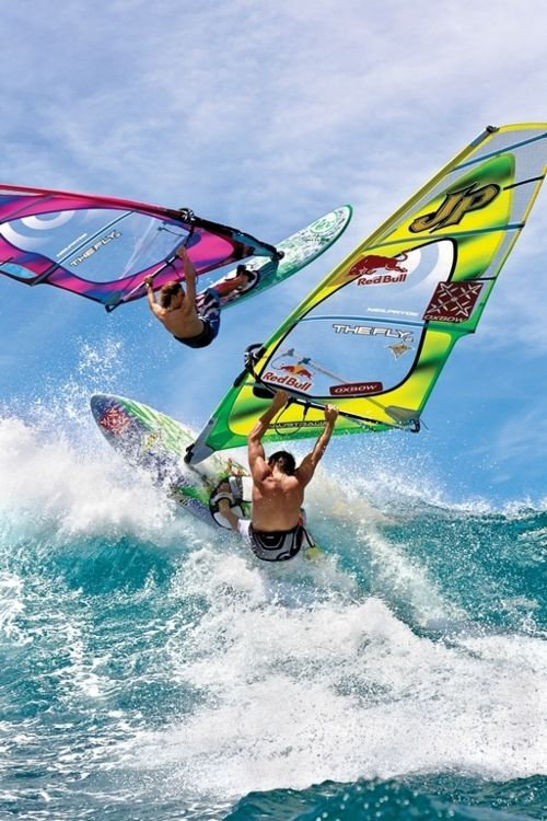 Feel The Rush While Wind Surfing Planche A Voile Kite Surf Faire Du Surf