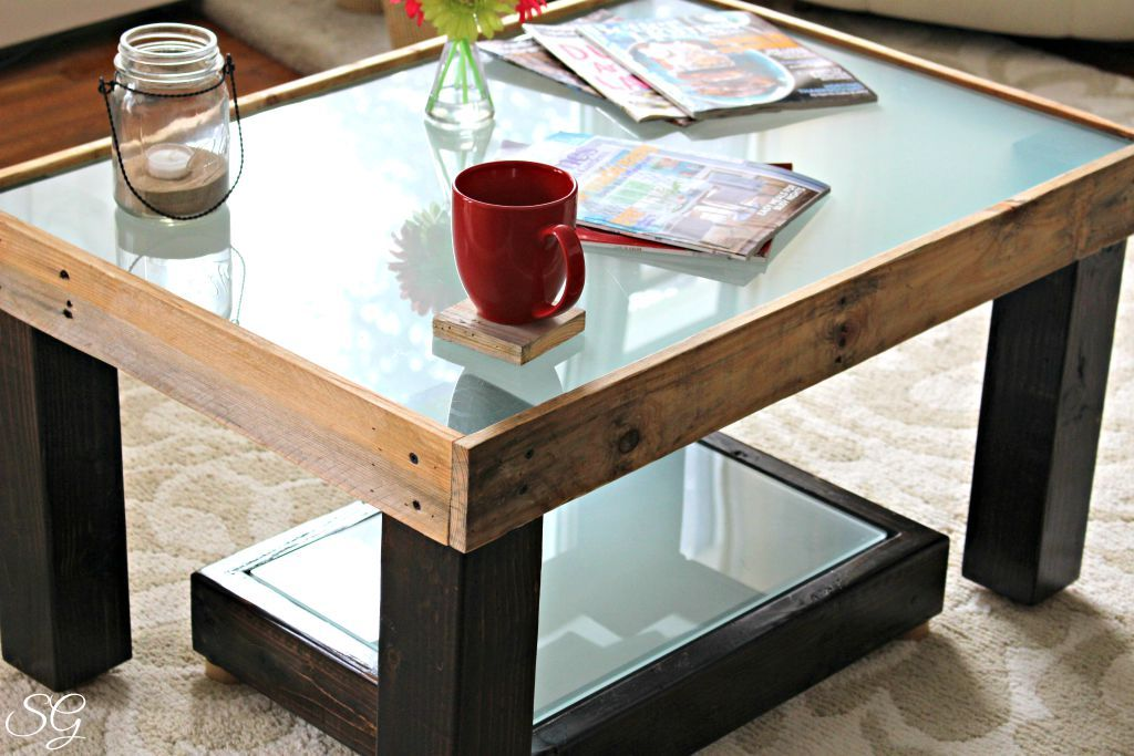 Upcycled DIY Coffee Table Coffee table, Diy upcycled