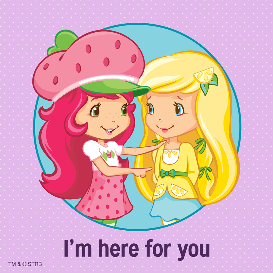 I\'m here for you always | Strawberry Shortcake | Pinterest