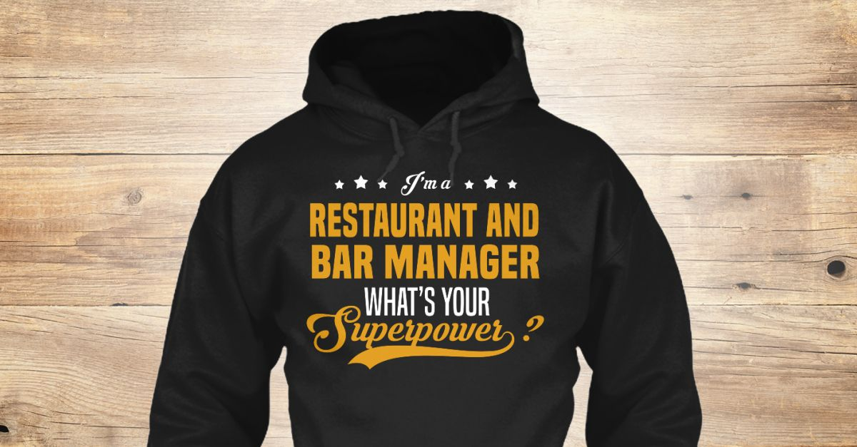 If You Proud Your Job, This Shirt Makes A Great Gift For You And - bar manager job description