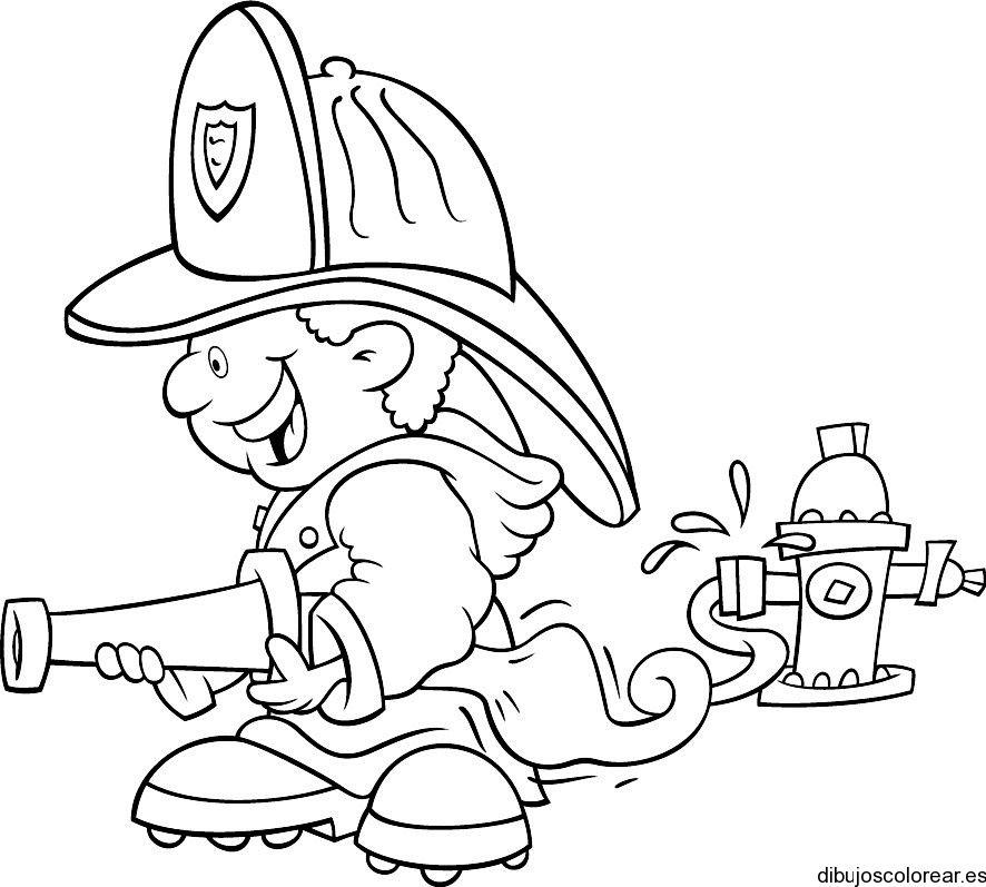 Oficios Y Profesiones Dibujos Para Colorear Food Trucks Kids
