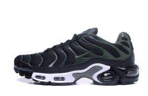 buy popular f382e c88a3 Mens Nike Air Max TN Ultra Plus Black Olive Green White Running Shoes