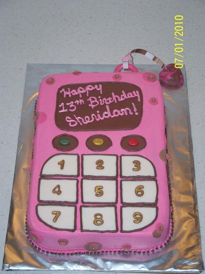 cell phone birthday cakes Cell phone birthday cakes for girls 10