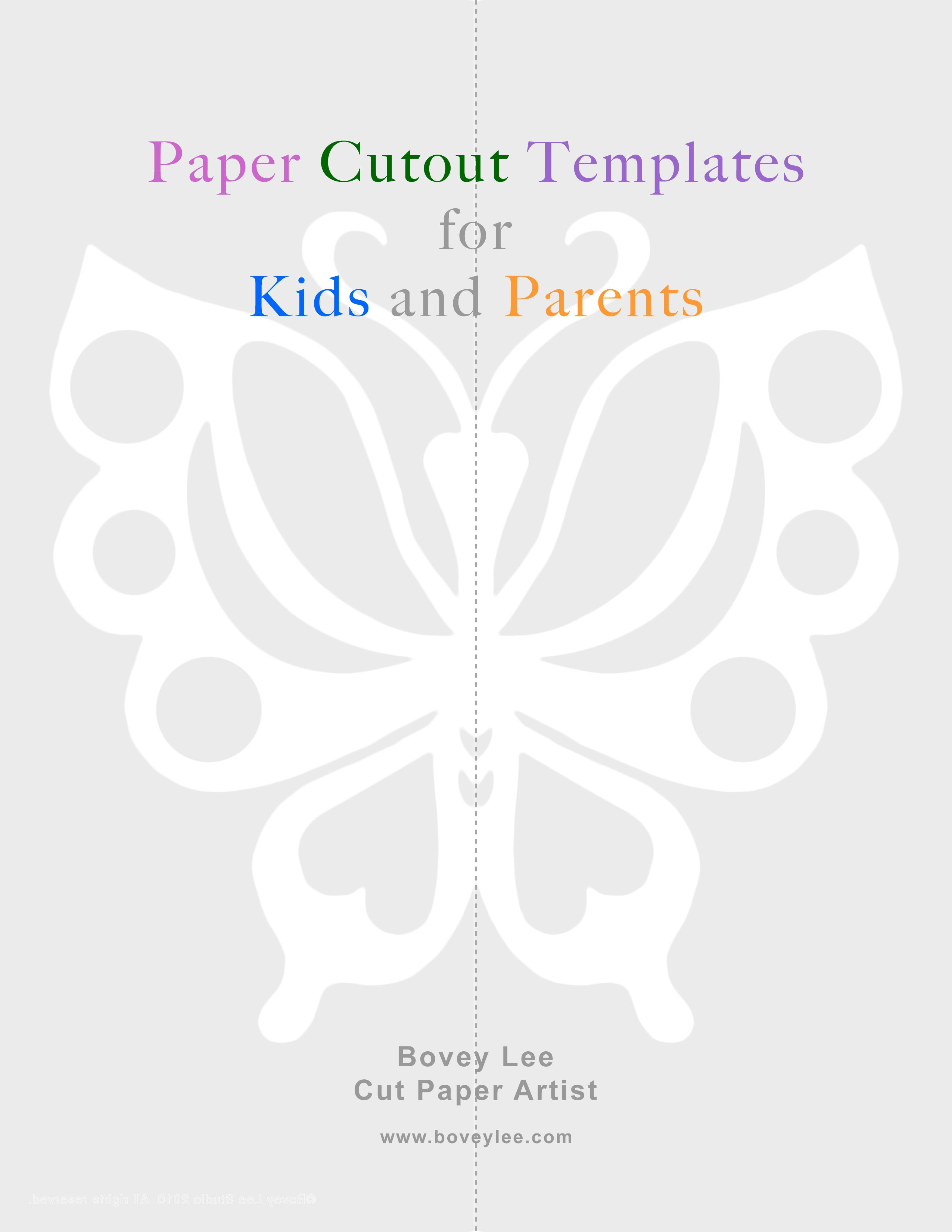 graphic relating to Paper Cutout Templates referred to as Free of charge paper cutout templates for little ones and mothers and fathers Artwork