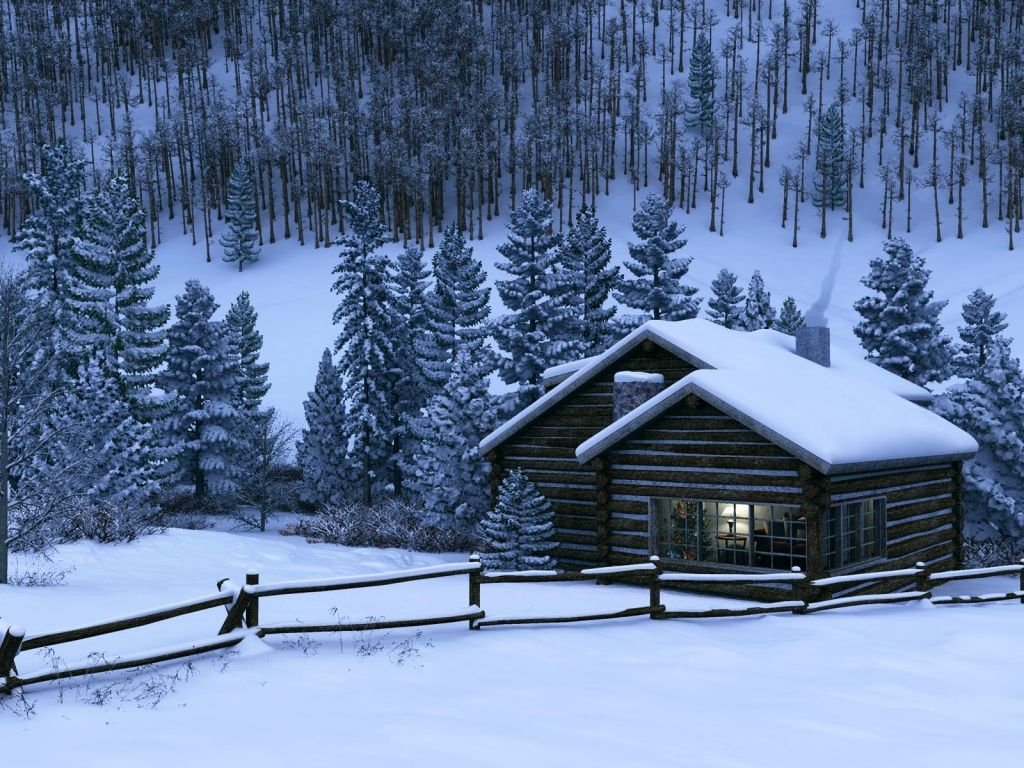 Captivating A Warm Cabin