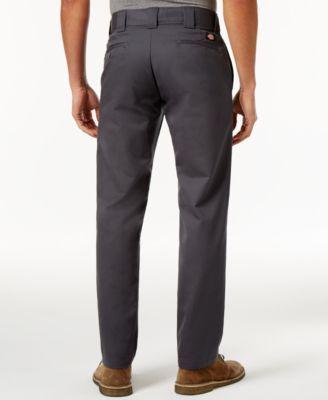 Dickies Men's Slim-Tapered Fit Work Pants - Black 34x34