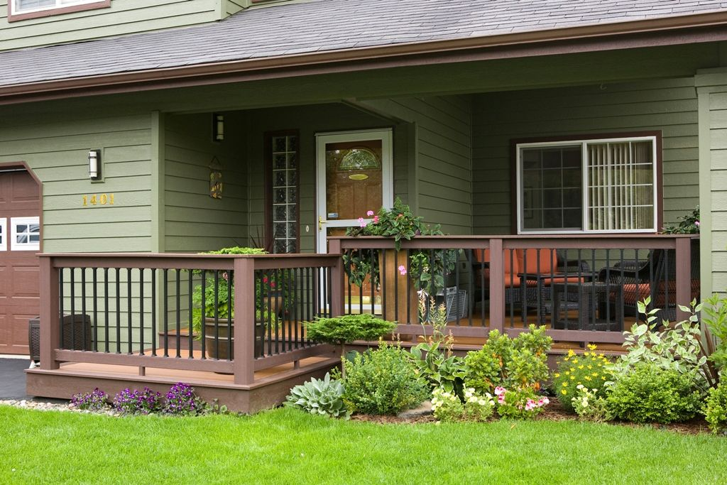 Simple confidene create the perfect front porch that for Front porch construction