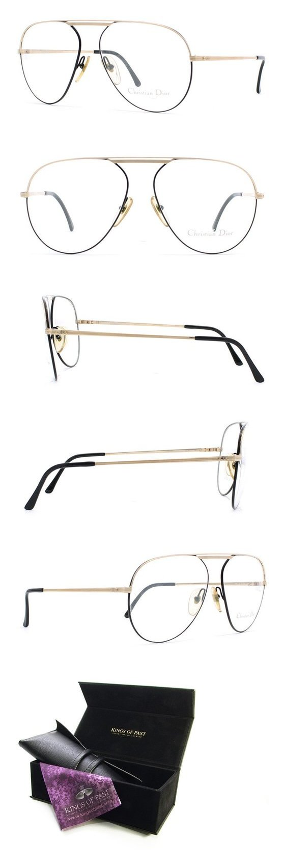 c4c4895013 Christian Dior 2536 49 Black and Gold Authentic Men Vintage Eyeglasses Frame   apparel  eyewear  christiandior  prescription eyewear frames  shops  men    ...