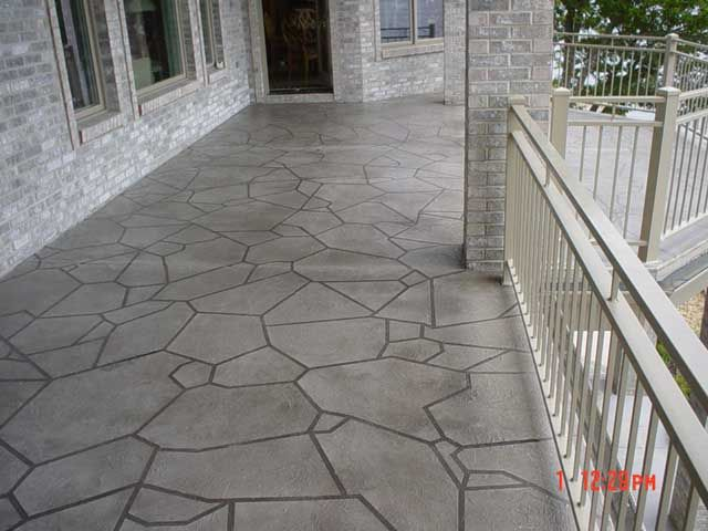 decorative concrete overlay.  Decorativeconcrete in Balcony Decorative Concrete is ideal for floors walls and