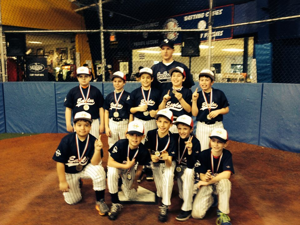 The 2013 14 Pbi Indoor League 9 10u Division Champions January 2014 Baseball League League Champion