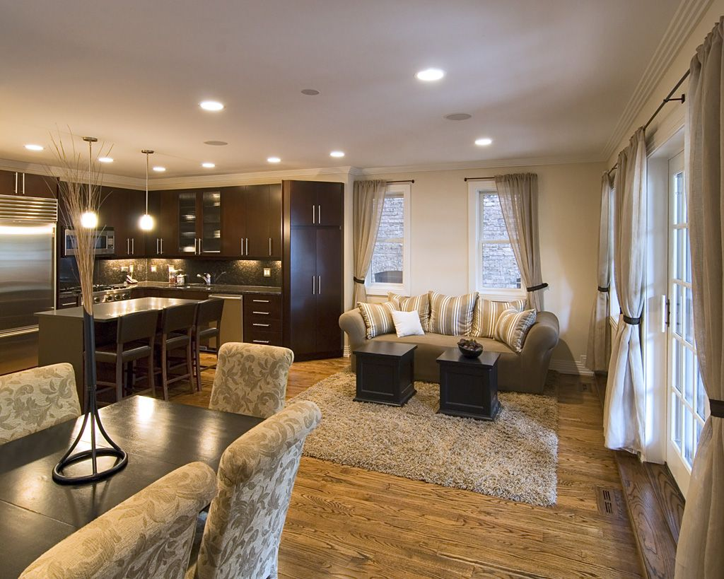 95 Designer Kitchens That Ll Inspire You To Renovate Yours Living Room And Kitchen Design Dining Room Combo Living Room Kitchen Kitchen great room combinations