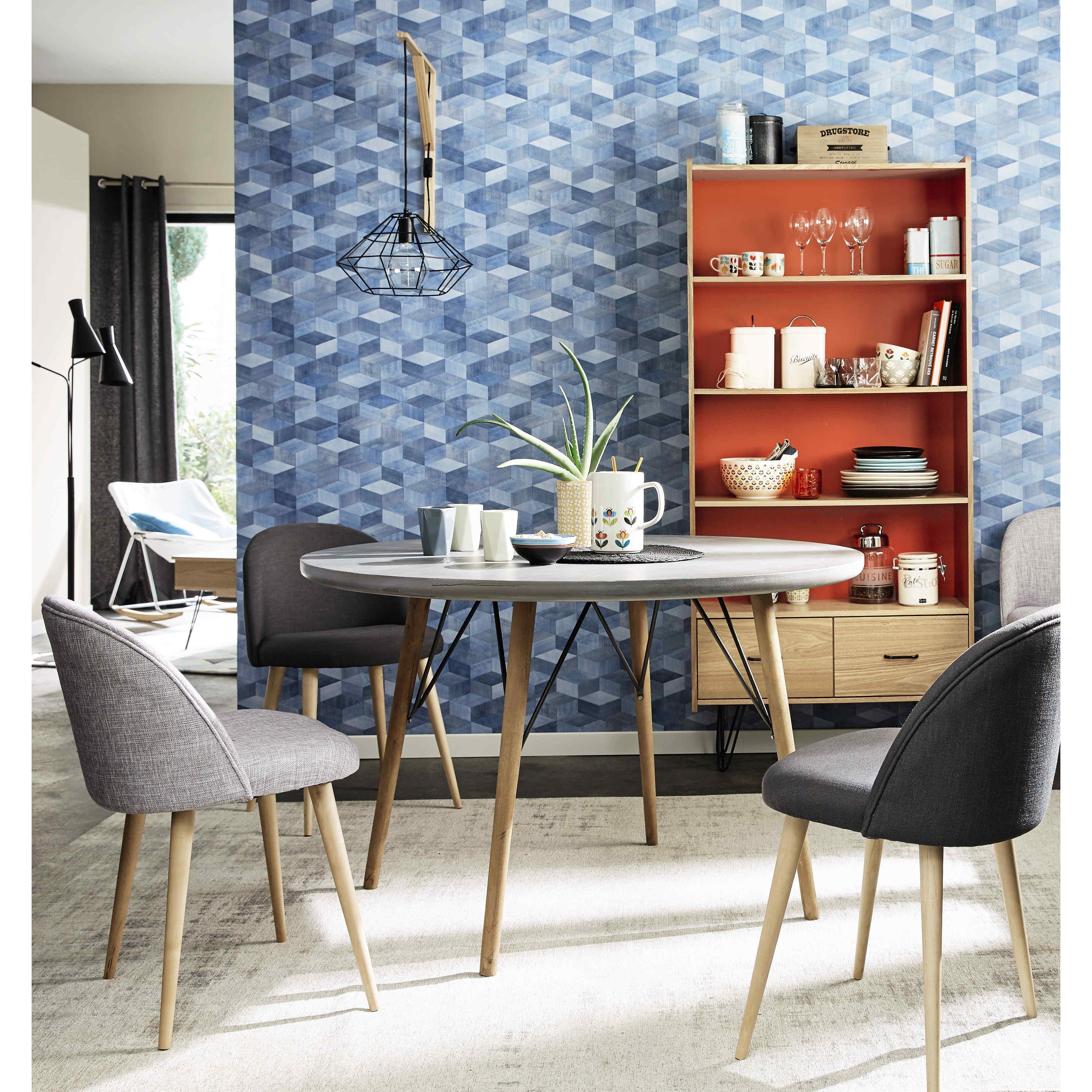 Runder Esstisch aus Holz, D120   Cleveland and Painting furniture