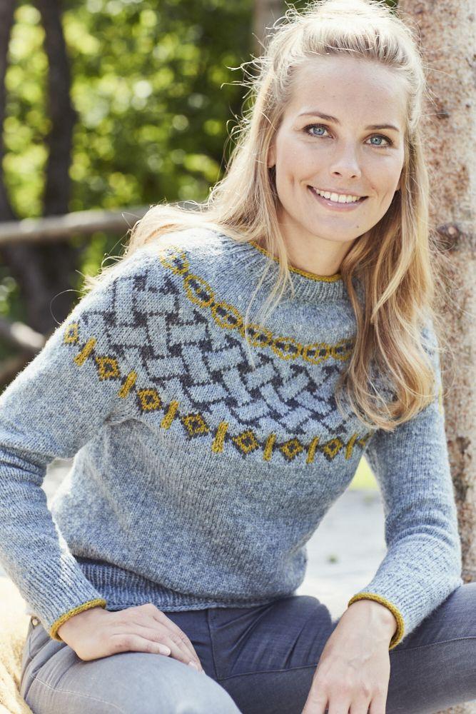 Photo of Rundpassen-Pullover, gestrickt aus Landlust Merino 180 von Lana Grossa. Anleitun…