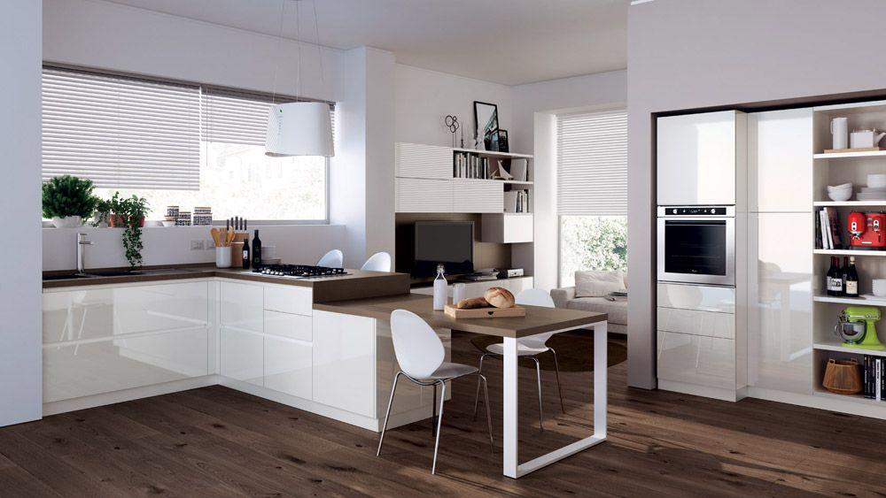 Scavolini - Cucina Evolution [b] | Kitchens Design | Cucine moderne ...