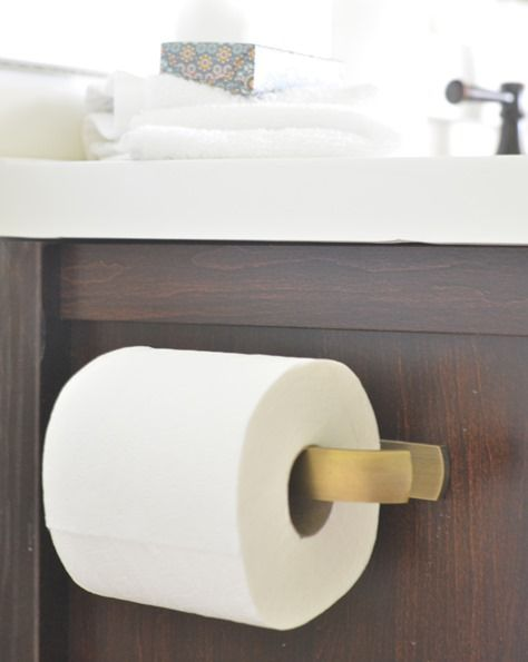 Brass Toilet Paper Holder Bath Reno Inspiration Board Pinterest