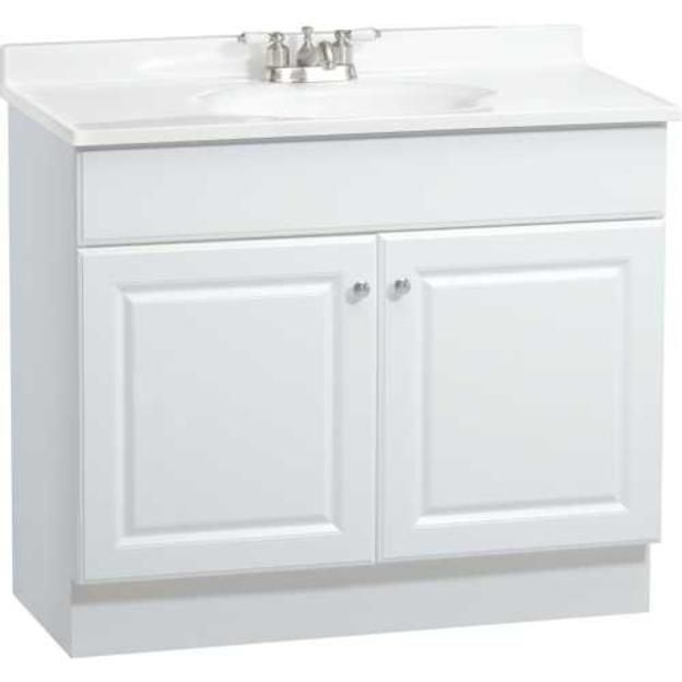 Rsi Home Products Richmond Bathroom Vanity With Top White 2