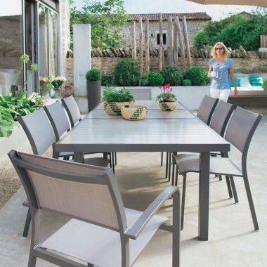 Table En Metal Montebello Jardinerie Jardiland Mobilier Jardin Mobilier Jardinerie